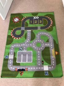 Car track mat