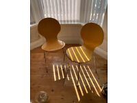 2 x FREE chairs