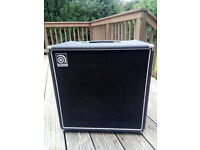"Ampeg BA-115U 100W bass combo (15"" speaker) - hardly used - delivery considered within range"