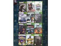 XBOX 360 GAMES FOR SALE / LOADS OF GAMES TO CLEAR !!!!!