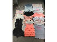 Large *17 Item* Bundle Of Girls Summer Clothes *10-12 Years*