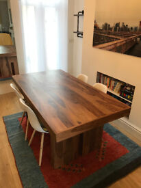 Dining Table For Sale - Never Used - Hand-crafted and finished from solid sheesham wood