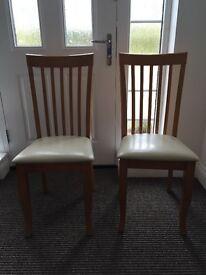 2 x Julian Bowen Newbury Chairs RRP £60 **NEW**