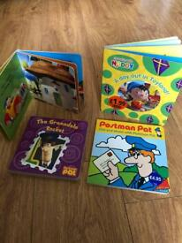 Postman Pat & Noddy book bundle