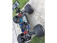 Traxxas e revo brushless rc car