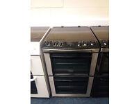 £180 Zanussi 55cm Ceramic Top Cooker - 12 Months Warranty