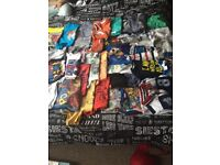 Boys clothes all in excellent condition and toot toot drivers cars and tracks