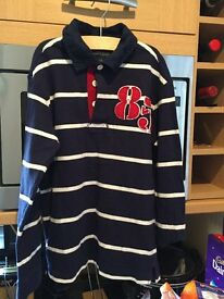 Tommy Hilfiger rugby shirt aged 8 -10