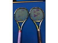 Tennis Rackets Yonex Ezone DR98 310g x2