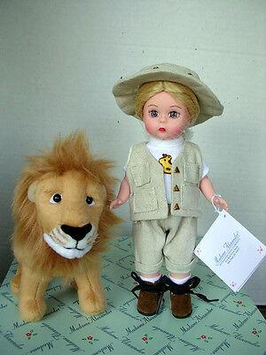 """Madame Alexander African Safari Set,  8"""" Wendy & Lion, 2000 NIB"""