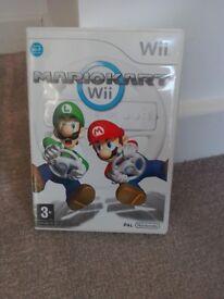Mario Cart WII game