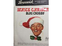 Bing Crosby and others Christmas collection of 12 inch Vinyl LPs