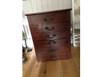 small chest of drawers/filing cabinet