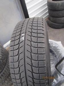 225/60R17 SET OF 4 USED MICHELIN WINTER TIRES