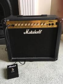 Marshall MG DFX 30 amp with switch pedal