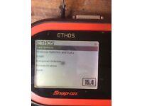 Snap on diagnostic car scanner