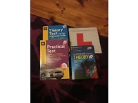 Theory books, theory disc and L plates