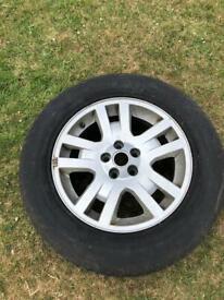 Land Rover spare wheel