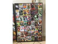 Large DC Super heroes comic book picture