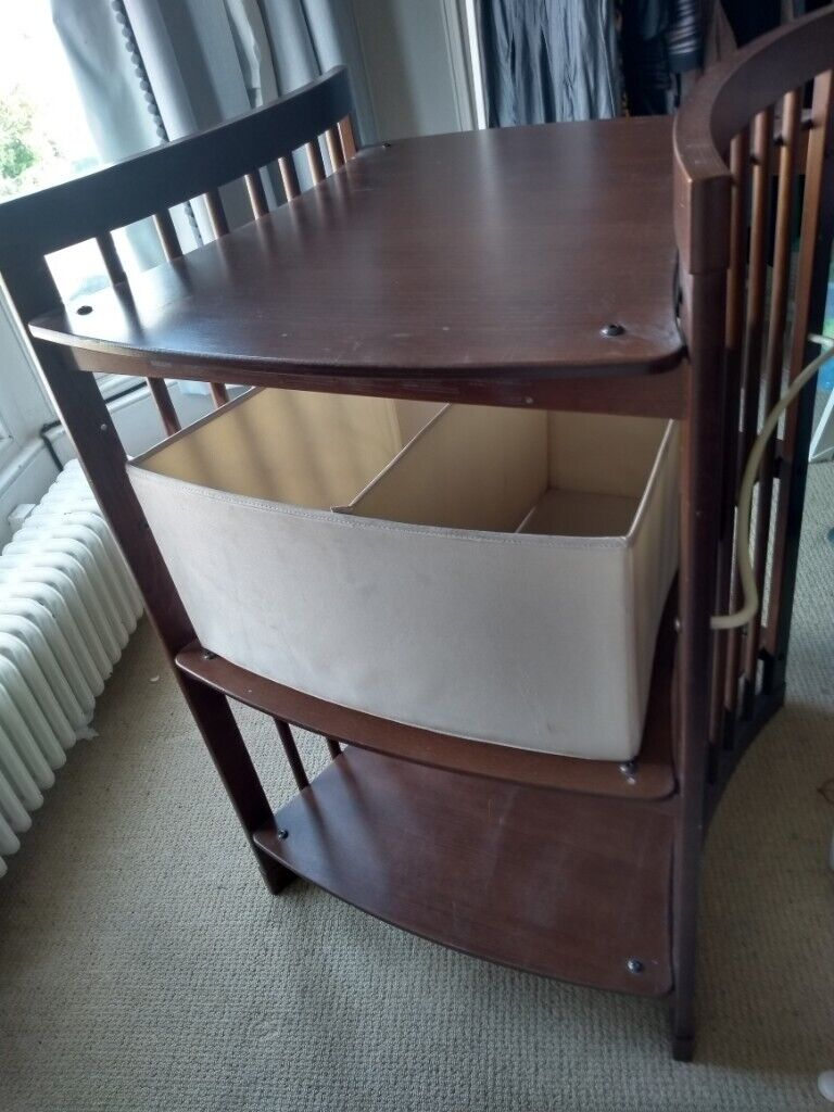 Fantastic Stokke Baby Changing Table With Side Baskets And Storage Container In Leith Edinburgh Gumtree Download Free Architecture Designs Embacsunscenecom