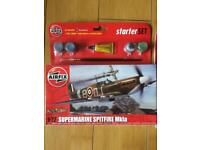 Airfix Spitfire model