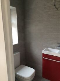 Spacious Room with ensuite bathroom in a shared house.