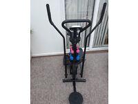 Cross Trainer Gym body fitness machine