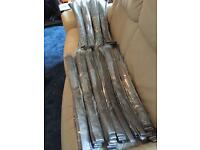 100 new silver ties