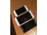 IPHONE 6S PLUS + IPHONE 5S + SAMSUNG GALAXY S6