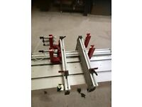 Air press from clamping