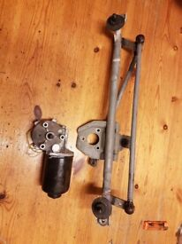 Corsa c wiper motor and linkage