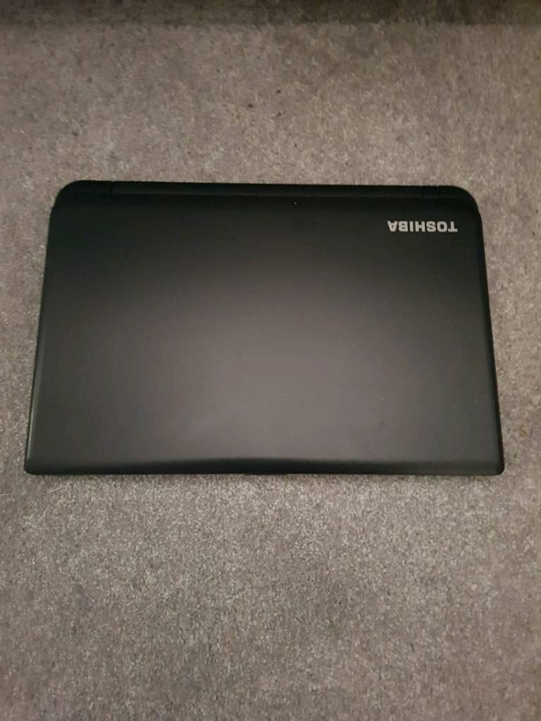 Toshiba satellite laptop light modern machine