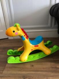 isher-Price 4.1 out of 5 stars 43 Reviews Fisher-Price Rockin' Tunes Giraffe