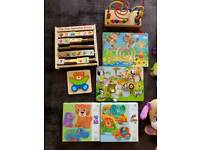 Wooden toys puzzles DJECO and more