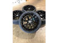 "Brand new set of 20"" alloy wheels and tyres Vauxhall Vivaro Renault Trafic"