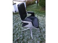 Office quality leather chair for sale.