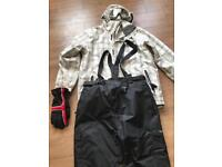 Men's full ski suit
