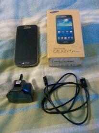 Samsung Galaxy s4 Mini gt-i 9195 8gb Black Mist Mobile Phone (EE)