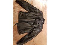 Motorcycle leather jacket UK40