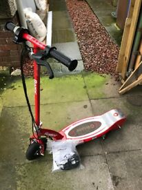 Razor Electric Scooter. Recommended for 8+ years