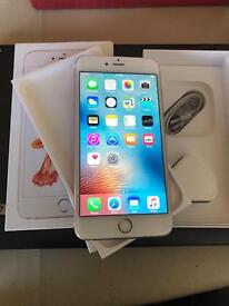 iPhone 6s Plus rose gold unlocked boxed can deliver/drop off