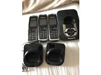 3 Panasonic Digital Wireless Phones