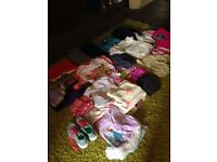 Bundle of girls clothes size 9-11 (47 items)