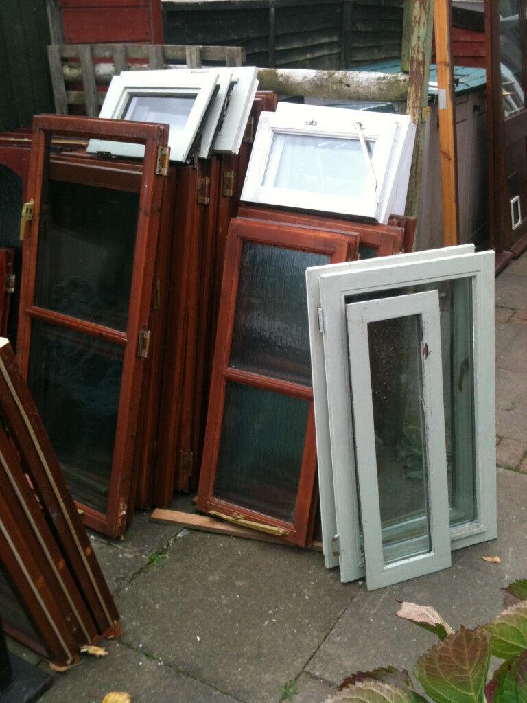 Window inserts (wood) with double glazed glass