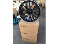 "4 19"" alloy wheels alloys rims tyre tyres vw Volkswagen seat Skoda audi Mercedes Vito viano v class"