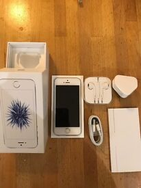 IPHONE SE64GB Vodafone Silver Immaculate Condition