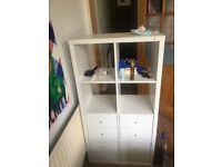 Ikea kallax with drawer inserts