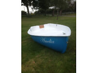 New 8' 6 GRP Dinghy, Rowing Boat, Tender