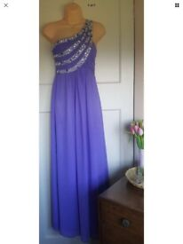 Great condition Quiz prom wedding bridesmaid party evening gown maxi dress size 12 full length