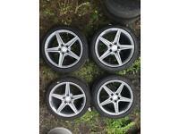 "18"" Genuine Mercedes Alloy wheels. 18 inch"